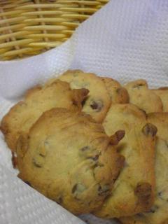 チョコチップはちみつクッキー