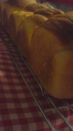 米粉のスティック食パン