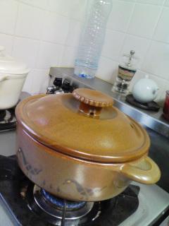 陶器のお鍋