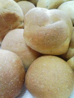 豆乳のライ麦パン