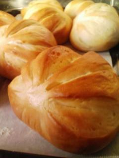 人参と馬鈴薯のパン