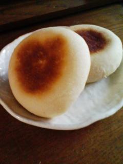 お焼き風米粉パン