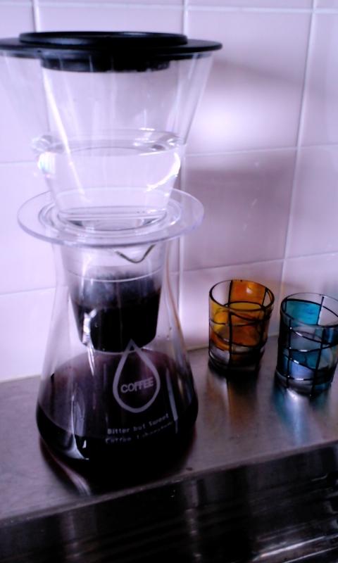 水出しコーヒー始め(て)ました